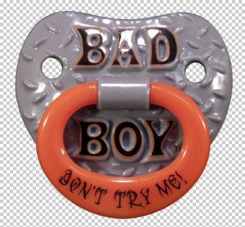 Billy Bob SFX Pacifier Bad Boy Don'T Try Me Baby Soother Comforter Dummy